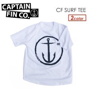 CAPTAIN FIN キャプテンフィン メンズ ラッシュガード ラッシュTee 紫外線対策 半袖 20ss●CF SURF TEE サーフTee|surfer