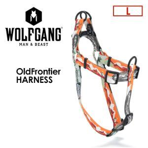 送料無料 WOLFGANG MAN&BEAST ウルフギャング 犬 ハーネス 原産国 USA/OldFrontier HARNESS サイズ(L) surfer