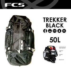 FCS,エフシーエス,バック,バッグ,リュック●Trekker BLACK トレッカー|surfer