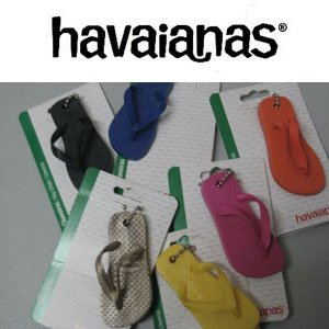 ビーチサンダル キーホルダー havaianas ハワイアナス/ボールチェーンキーホルダー|surfer