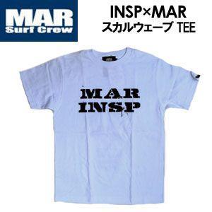 インスピ,INSP,Tシャツ,コラボ●INSP×MAR スカルウェーブ|surfer