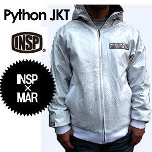 【あすつく対応】INSP,インスピ,コラボ,パーカー,sale●INSP×MAR コラボジャケット Python|surfer