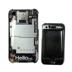 あすつく Hello ink ハローインク iPhoneケース/i PROTECTOR 3G I circuits RPZ-1-02|surfer