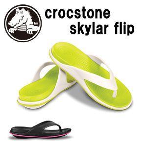 【あすつく対応】CROCS,クロックス,サンダル●crocstone skylar flip,Crocs Tone|surfer