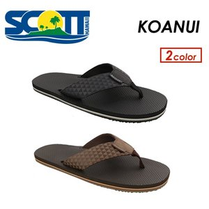 【送料無料】SCOTT HAWAII,スコットハワイ,ビーチサンダル,メンズ,正規品●KOANUI|surfer