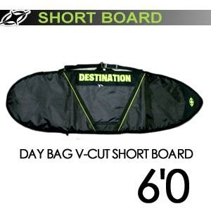 DESTINATION ディスティネーション サーフィン サーフボードケース/DAY BAG V-CUT SHORT BOARD 6'0'' surfer