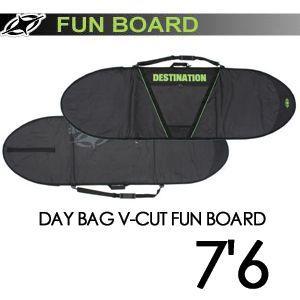 DESTINATION ディスティネーション サーフィン サーフボードケース/DAY BAG V-CUT FUN BOARD 7'6'' surfer