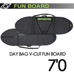 DESTINATION ディスティネーション サーフィン サーフボードケース/DAY BAG V-CUT FUN BOARD 7'0'' surfer
