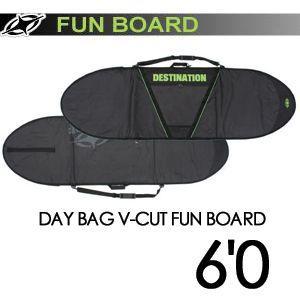 DESTINATION ディスティネーション サーフィン サーフボードケース/DAY BAG V-CUT FUN BOARD 6'0'' surfer