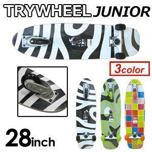 【送料無料】TRYWHEEL,トライウィール,3輪スケートボード,スケボー,サーフスケート●TRY WHEEL JUNIOR トライウィールジュニア 28''|surfer