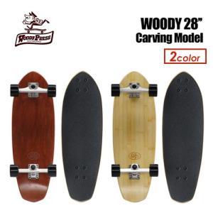 スケートボード 無地 スケボー コンプリート/WOODY PRESS 28