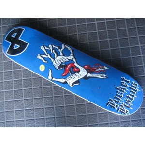 スケートボード,デッキ,POCKETPISTOLS,ポケットピストルズ●BONE HAND surfer