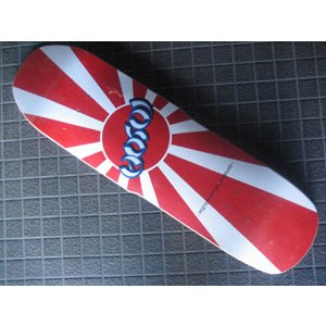 スケートボード,デッキ,HOSOI,ホソイ●Rising Sun surfer