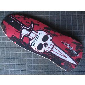 スケートボード デッキ Dagger ダガー/EDDIE REATEGUI MODEL|surfer