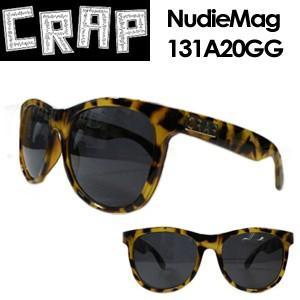 CRAP,クラップ,サングラス●NudieMag 131A20GG|surfer