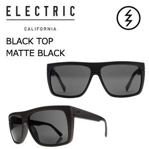 【送料無料】正規代理店,ELECTRIC,エレクトリック,サングラス,アイウェアー●BLACK TOP MATTE BLACK-M GREY|surfer