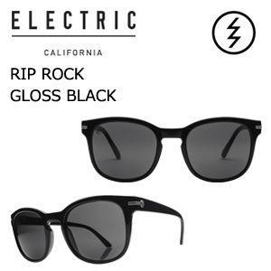 送料無料 正規代理店 ELECTRIC エレクトリック サングラス アイウェアー/RIP ROCK GLOSS BLACK-M GREY|surfer