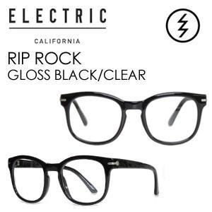 【送料無料】正規代理店,ELECTRIC,エレクトリック,サングラス,アイウェアー●RIP ROCK GLOSS BLACK-CLEAR|surfer