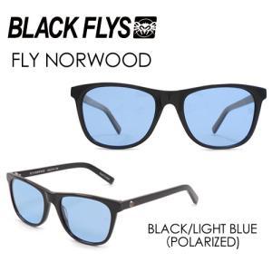 【あすつく対応・送料無料】BLACKFLYS,ブラックフライズ,サングラス,偏光レンズ●FLY NORWOOD フライ ノーウッド BLK/LIGHT BLUE (POLARIZED) BF-1193-04|surfer