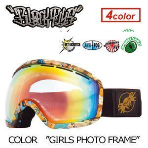 【送料無料】BLACKFLYS,ブラックフライ,GOGGLE,ゴーグル,スノーボード●XXX SNOWGOGGLE GIRLS PHOTO surfer