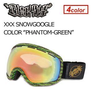 【送料無料】BLACKFLYS,ブラックフライ,GOGGLE,ゴーグル,スノーボード●XXX SNOWGOGGLE PHANTOM×GREEN surfer