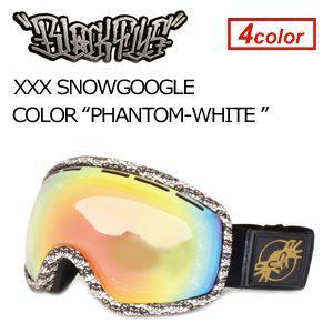 【送料無料】BLACKFLYS,ブラックフライ,GOGGLE,ゴーグル,スノーボード●XXX SNOWGOGGLE PHANTOM×WHITE surfer
