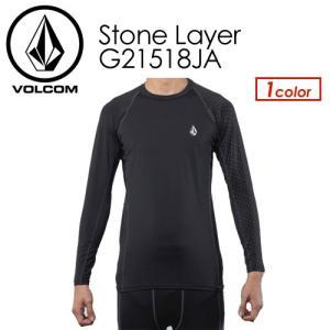 Volcom ボルコム スノーボード インナー 長袖 sn18/Stone Layer G21518JA|surfer
