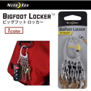 NITE IZE ナイトアイズ アウトドア キーホルダー キャンプ 便利/BIGFOOT LOCKE...