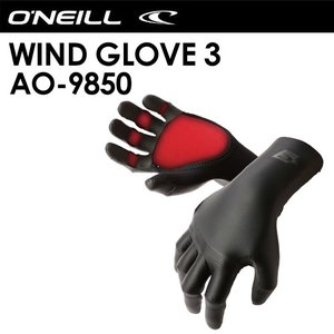 O'neill,オニール,SUP,ウィンドサーフィン,防寒対策,グローブ●WIND GLOVE 3 AO-9850|surfer