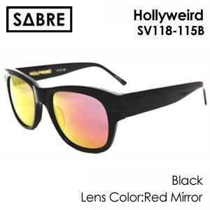 送料無料,SABRE,セイバー,サングラス●HOLLYWEIRD-SV118-115B|surfer
