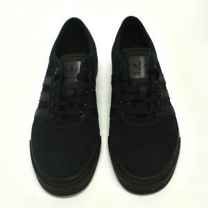 ADIDAS SKATEBOARDING/アディダス ADI EASE BLACK/BLACK/BLACK 靴 スケートボードシューズ スニーカー BY4027|surfingworld|03