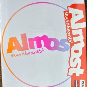 ALMOST/オールモスト CENTER PIECE HYB WHITE 7.75 DECK SK8  スケートボード/スケボーデッキ surfingworld 02