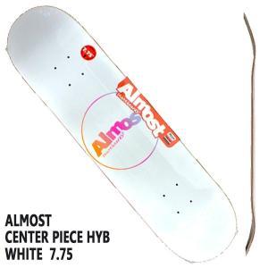 ALMOST/オールモスト CENTER PIECE HYB WHITE 7.75 DECK SK8  スケートボード/スケボーデッキ surfingworld 03