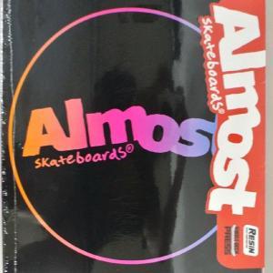 ALMOST/オールモスト CENTER PIECE HYB BLACK 8.0 DECK SK8  スケートボード/スケボーデッキ|surfingworld|02
