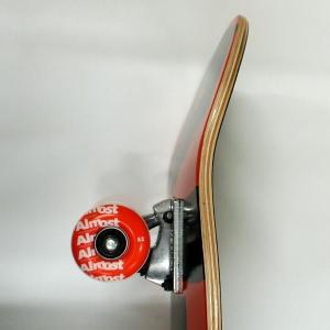 ALMOST/オルモスト コンプリートスケートボード/スケボー COLOR LOGO RED 8.0 SK8   [返品、交換及びキャンセル不可]|surfingworld|03
