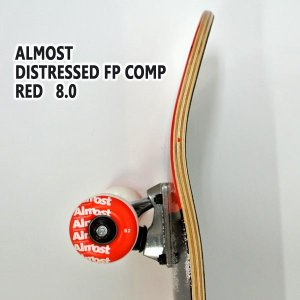 ALMOST/オルモスト コンプリートスケートボード/スケボー DISTRESSED FP RED 8.0 送料無料 SKATEBOARDS スケボー 完成品 SK8|surfingworld|02