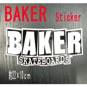 BAKER/ベイカー BAKER LOGO XL STICKER/ステッカー シール スケボー surfingworld