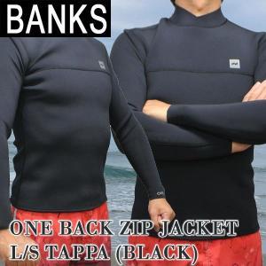 値下げしました!BANKS/バンクス ONE BACK ZIP JACKET タッパ BLK ウェッ...