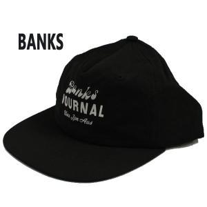 BANKS/バンクス SCRYPTO DIRTY BLACK CAP/キャップ HAT/ハット 帽子 日よけ [返品、交換及びキャンセル不可]|surfingworld