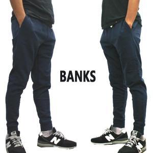 BANKS/バンクス PRIMARY TRACKSUIT PANT メンズ スウェットパンツ DIRTY DENIM ボトムス トラックパンツ ロングパンツ  [返品、交換及びキャンセル不可]|surfingworld