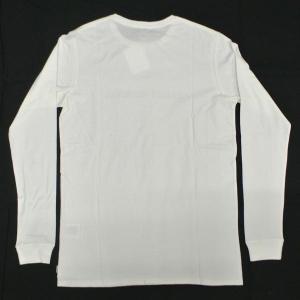 値下げしました!BANKS/バンクス LABEL L/S TEE OFF WHITE MENS メンズ 男性用 長袖Tシャツ 丸首 surfingworld 02