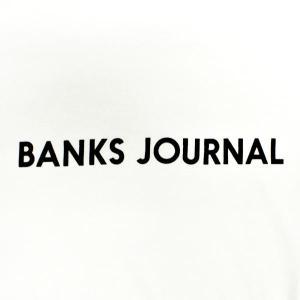 値下げしました!BANKS/バンクス LABEL L/S TEE OFF WHITE MENS メンズ 男性用 長袖Tシャツ 丸首 surfingworld 03