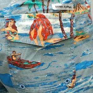 BANKS/バンクス VACATION BOARDSHORTS GLACIER BLUE 男性用 サーフパンツ ボードショーツ サーフトランクス 海パン 水着 メンズ 0178 surfingworld 04