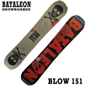 値下げしました!BATALEON/バタレオン BLOW 151 BATALEON SNOWBOARDS スノーボード 板 18-19モデル スノボ|surfingworld