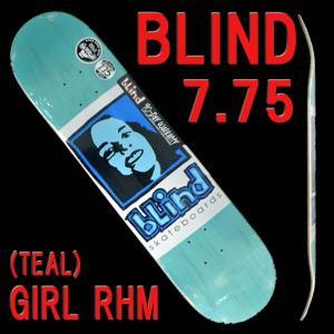 BLIND/ブラインド スケートボードデッキ GIRL RHM TEAL 7.75 7.75 x 3...