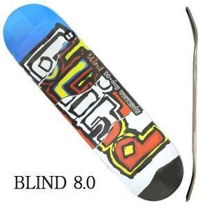 BLIND/ブラインド スケートボード デッキ OG RIPPED HYB MULTI 8.0 DE...