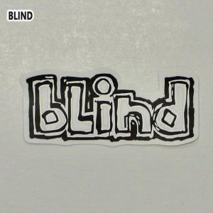 BLIND/ブラインド OG LOGO DECAL STICKER/ステッカー シール スケボー ビニールシール ロゴ|surfingworld
