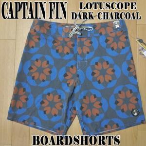 移転セール!値下げしました!CAPTAIN FIN/キャプテンフィン LOTUSCOPE BOARDSHORTS DARK CHARCOAL 男性用水着_海パン/海水パンツ  サーフパンツ ボードショーツ|surfingworld|02