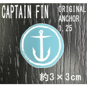 CAPTAIN FIN/キャプテンフィン ORIGINAL ANCHOR 1.25 SMALL BLUE STICKER/ステッカー シール スケボー surfingworld