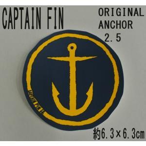 CAPTAIN FIN/キャプテンフィン ORIGINAL ANCHOR 2.5 NAVY STICKER/ステッカー シール スケボー surfingworld